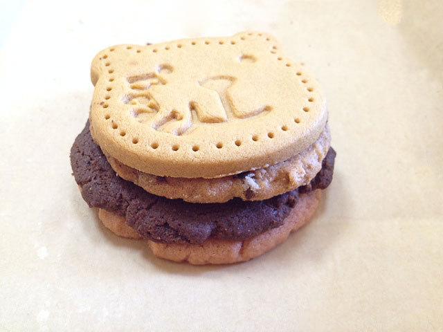 ステラおばさんクッキーサンド