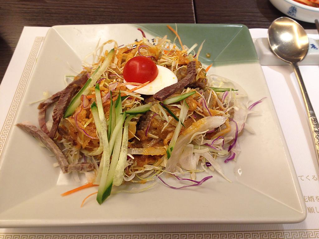 saikaboサラダ冷麺