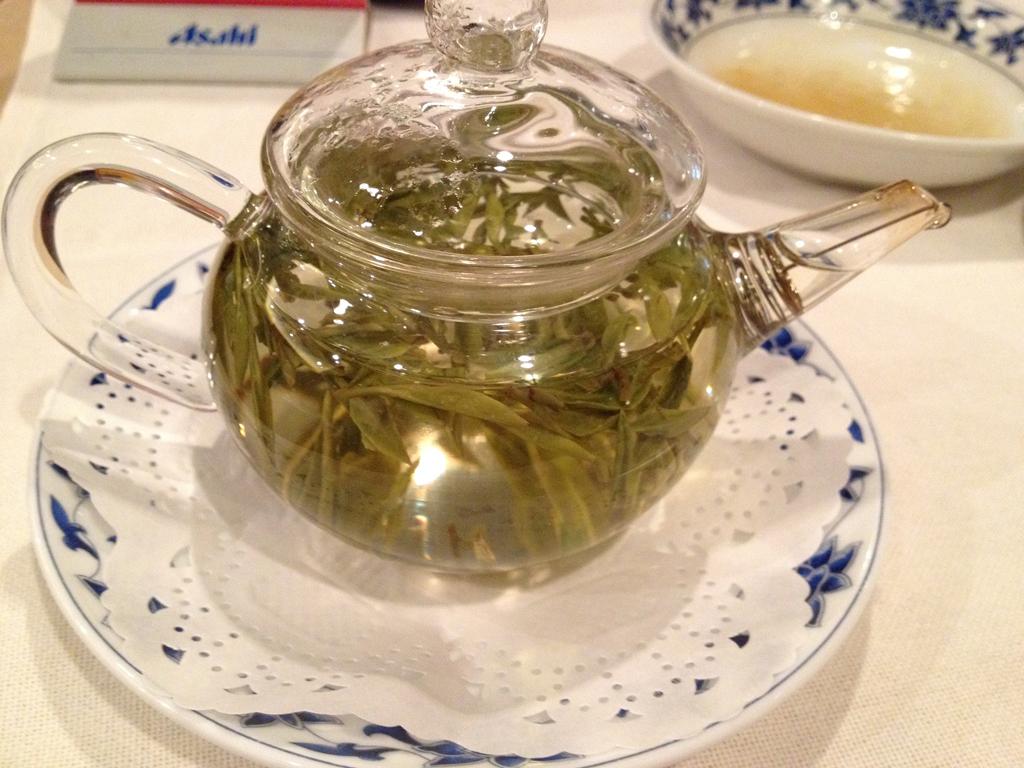 重慶飯店緑茶