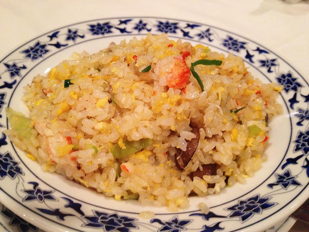 重慶飯店蟹チャーハン