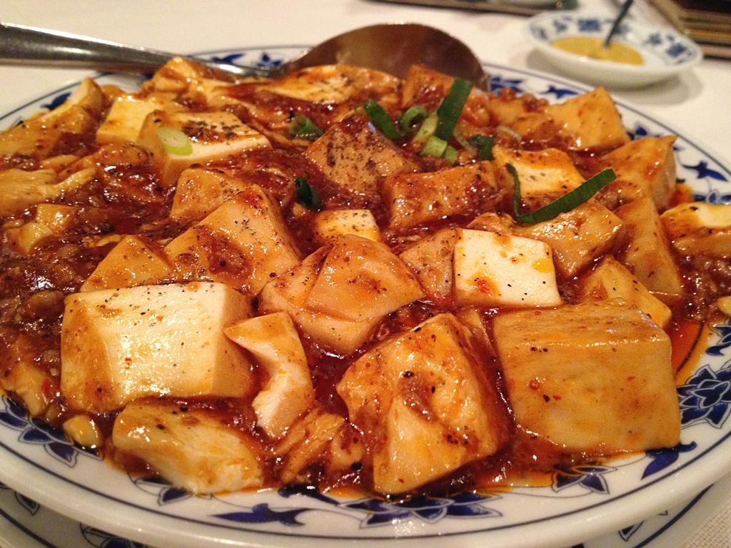 重慶飯店麻婆豆腐