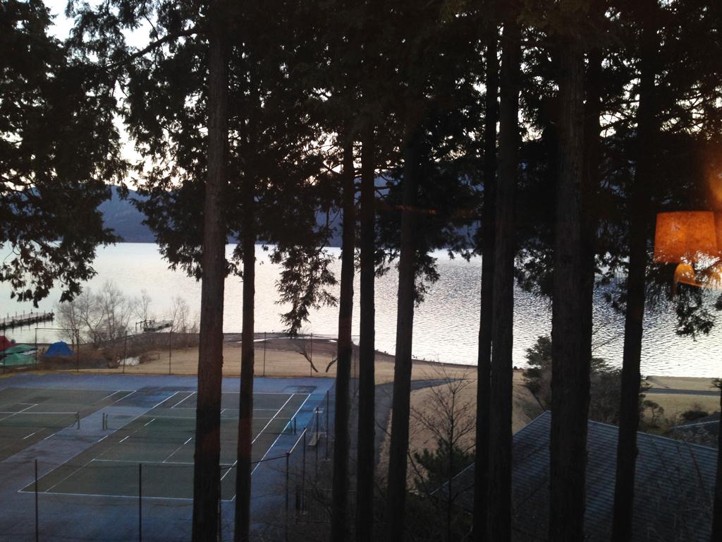 箱根プリンス部屋からの景色