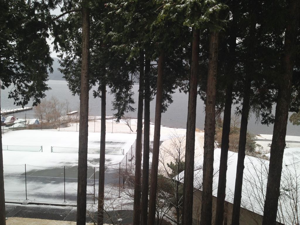 箱根プリンス部屋からの景色2