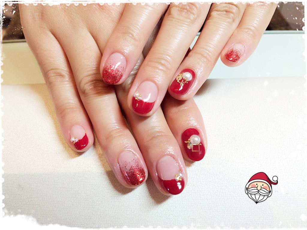 ネイル_クリスマス