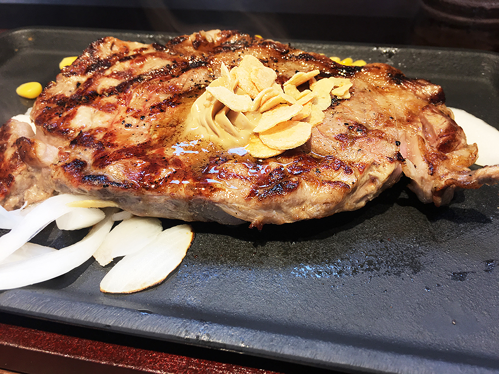 いきなりステーキ_サーロインステーキ
